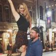 Leven Rambin et Jim Parrack à austin Texas, quelques jours avant leur mariage. Octobre 2015.