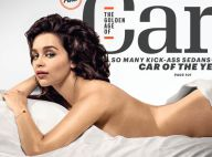 "Emilia Clarke, nue : La star de ""Game of Thrones"" élue Femme la plus sexy"