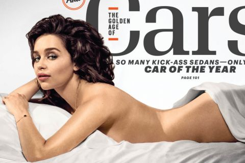 "Emilia Clarke, nue : La star de ""Game of Thrones"" élue Femme la plus sexy"