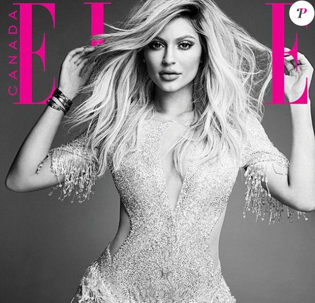Kylie Jenner pour le magazine ELLE Canada