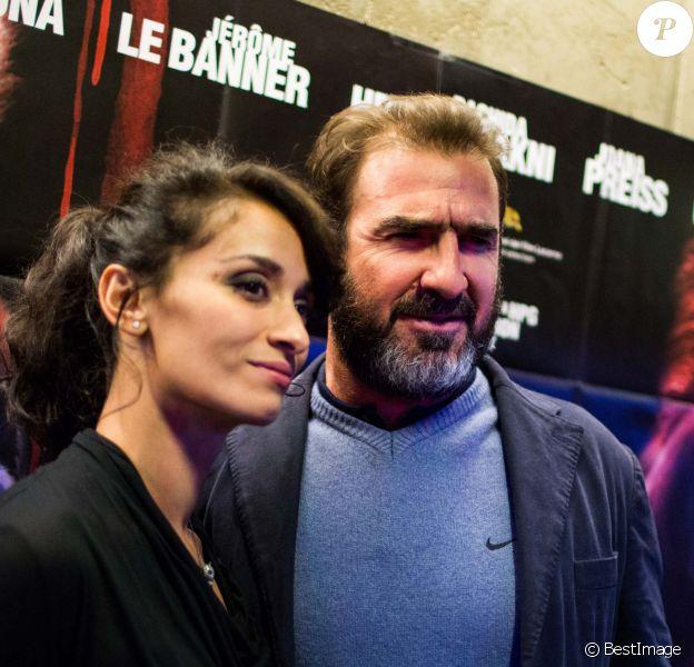 """Eric Cantona et Rachida Brakni à l'avant-première du film """"les mouvements du bassin"""" à Paris le 25 septembre 2012"""