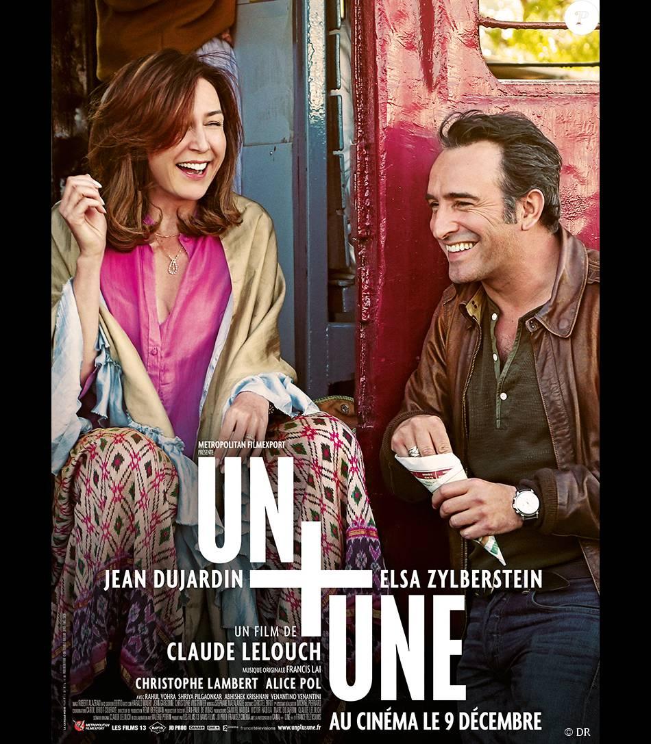 Affiche du film Un + Une, en salles le 9 décembre