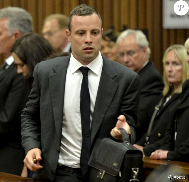 Oscar Pistorius et June Steenkamp au tribunal de Pretoria, le 3 mars 2014