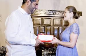 Princesse Victoria, enceinte : De belles rondeurs en Colombie, loin du drame...