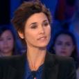 Eglantine Eméyé dans  On n'est pas couché  sur France 2, le samedi 17 octobre 2015.