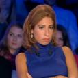 Léa Salamé dans  On n'est pas couché  sur France 2, le samedi 17 octobre 2015.