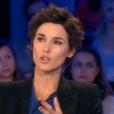 Églantine Éméyé réagit à l'affaire Laurence Nait Kaoudjt, mère de Méline (8 ans), condamnée à cinq ans de prison avec sursis après avoir mis fin aux jours de sa fille handicapée. Emission  On n'est pas couché  sur France 2, le 17 octobre 2015.