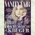 Diane Kruger en couverture du Vanity Fair français du mois de novembre 2015.