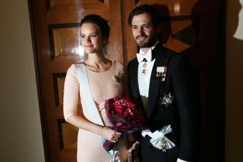 Princesse Sofia, enceinte : Première sortie, en robe moulante, avec Carl Philip