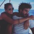 Laure Manaudou et Jérémy Frérot en virée en mer, vendredi 23 octobre 2015.