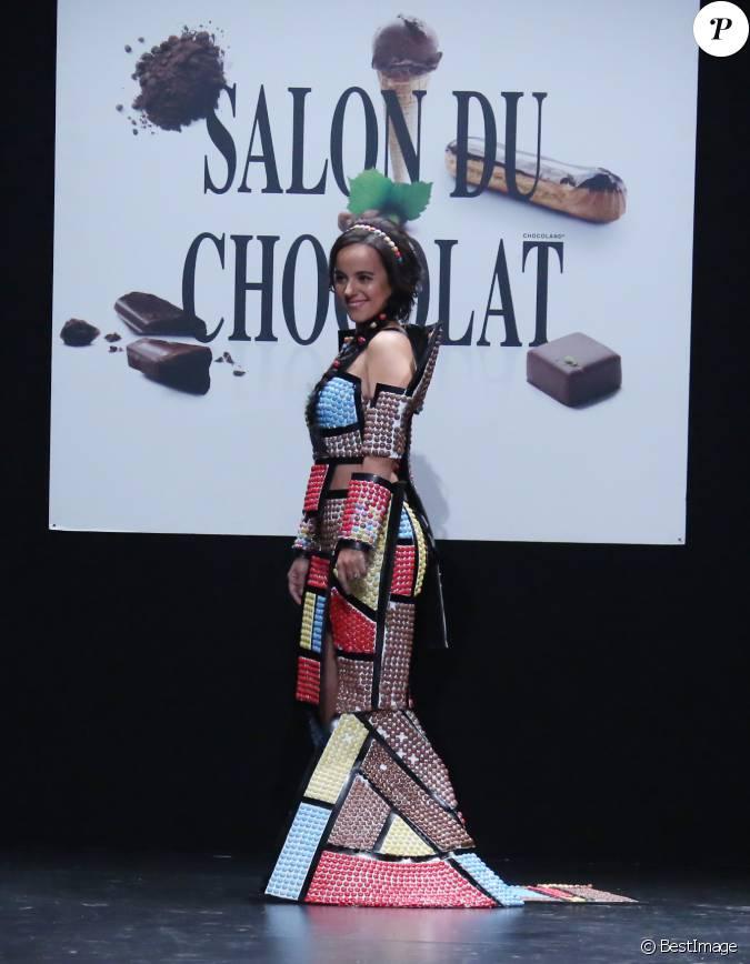 Aliz e d fil du 21 me salon du chocolat la porte de for Salon a porte de versaille 2015
