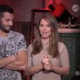 Loïc et Emilie, dans la quotidienne de  Secret Story 9  du mercredi 28 octobre 2015.