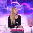 Mélanie au confessionnal, dans la quotidienne de  Secret Story 9  du mercredi 28 octobre 2015.