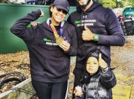Alicia Keys sportive acharnée, soutenue par l'adorable Egypt et Swizz Beatz