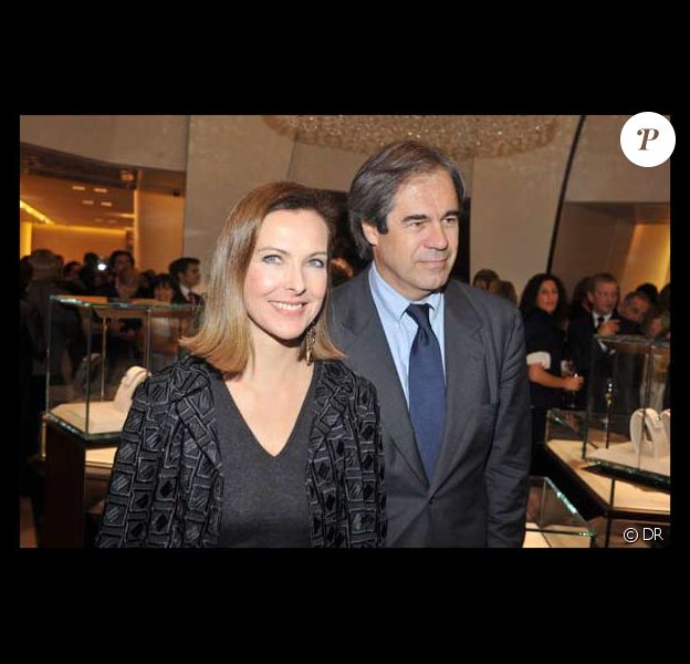 Carole Bouquet et son compagnon Claudio Costamagna