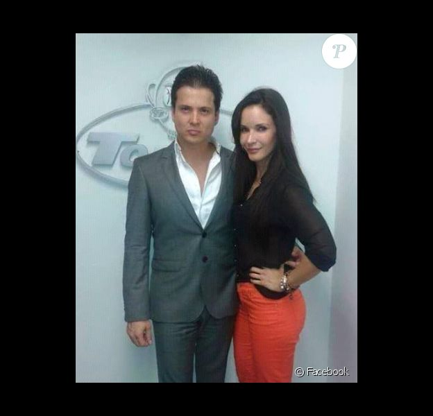 Adriana Campos et son mari Carlos Rincon / photo postée sur Facebook