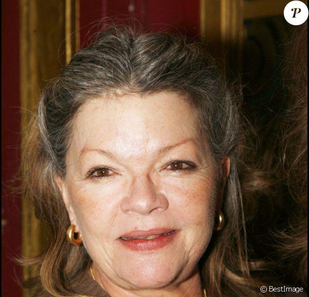 Catherine Allégret lors de la présentation du programme des théâtres privés à Paris en 2008