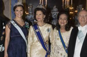 Victoria de Suède, enceinte, recycle la robe de grossesse de gala de Madeleine !