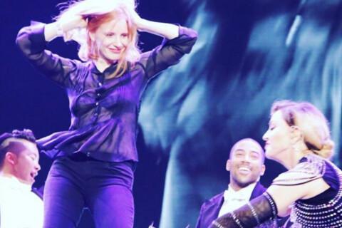 Jessica Chastain met une fessée à Madonna : L'actrice déchaînée comme jamais