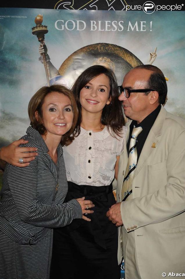 Karl Zéro, son épouse Daisy d'Errata, et leur fille Anaïs Tellenne