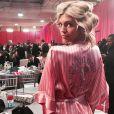 Les anges de Victoria's Secret dans les coulisses du défilé / photo postée sur Instagram.