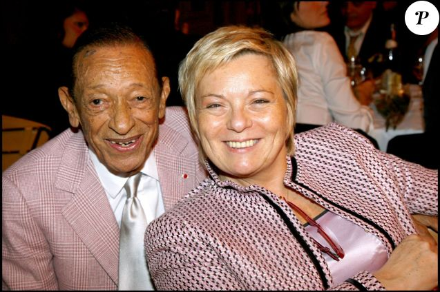 Henri Salvador et sa femme Catherine au dîner de stars en faveur du centre Pierre Huth à Paris, le 29 octobre 2007