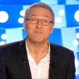 Laurent Ruquier présente  On n'est pas couché , le samedi 10 octobre 2015 sur France 2.
