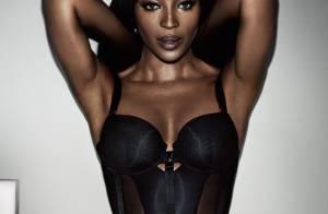 Naomi Campbell : Créatrice de lingerie et égérie irrésistible de sa collection