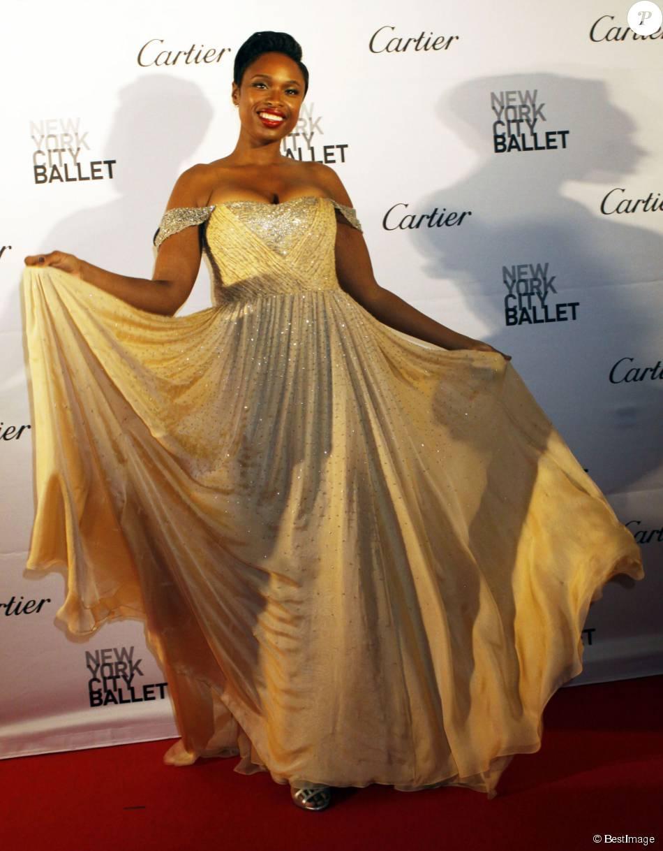 Jennifer Hudson à la soirée 'City Ballet Fall ' à New York, le 30 septembre 2015