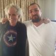 Thomas Ayad avec Keith Richards des Rolling Stones, photo Instagram Keith Richards. Chef de projet chez Mercury, Thomas fait partie des 89 victimes de l'attentat perpétré au Bataclan le 13 novembre 2015.