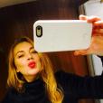 Lindsay Lohan sur le tournage de son nouveau film, The Shadow Within / photo postée sur Instagram.