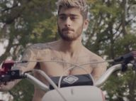 Zayn Malik motard sexy et torse nu : Un aperçu de son album solo...