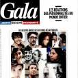Magazine  Gala  en kiosques le 18 novembre 2015.