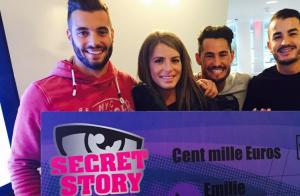 Secret Story 9 : Emilie reçoit son chèque de 100 000 euros, Rémi à ses côtés