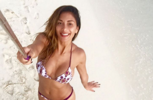Nicole Scherzinger : Sexy en bikini, la bombe s'éclate aux Maldives