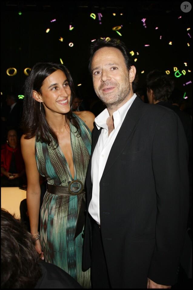 Pauline Lévêque et Marc Lévy à la soirée pour le 60e anniversaire de Christina Dior à Paris, le 17 septembre 2007