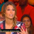 Laury Thilleman, invitée de  Touche pas à mon sport , sur D8, le mardi 24 novembre 2015.