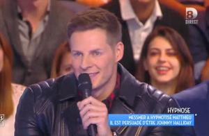 TPMP - Matthieu Delormeau, hypnotisé, se prend pour Johnny Hallyday !