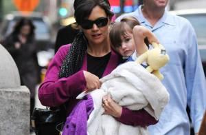REPORTAGE PHOTOS : Katie Holmes : sa fille Suri sait-elle... marcher ?