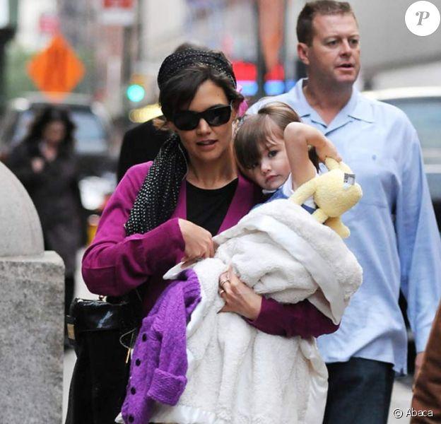 Katie Holmes et sa petite Suri