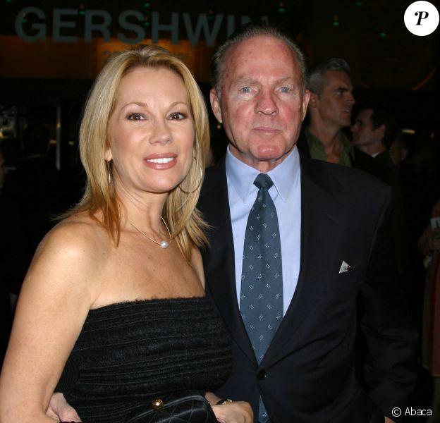 Kathy Lee et Frank Gifford lors de la première de Wicked, The Untold Story of the Withches of Oz au Gerwshin Theatre de New York, le 31 octobre 2003