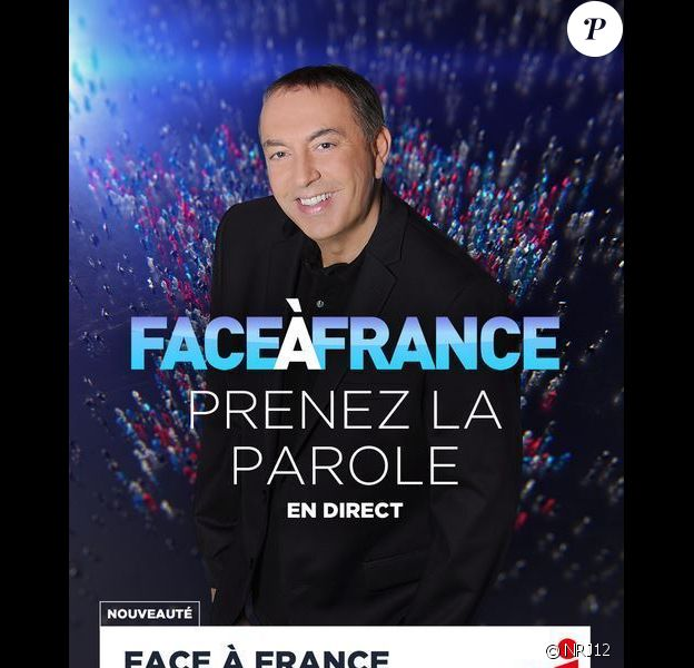 Campagne publicitaire pour Face à France, de Jean-Marc Morandini.