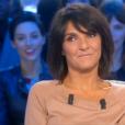 L'humoriste Florence Foresti invitée dans  Salut les Terriens  sur Canal+, le samedi 28 novembre 2015.