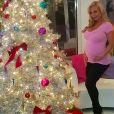 Coco Austin quelques heures avant son accouchement / photo postée sur Instagram le 28 novembre 2015