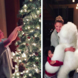Katherine Heigl et sa fille Naleigh préparent Noël / photo postée sur Instagram, fin novembre 2015.