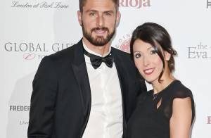 Olivier Giroud, futur papa : Sa belle Jennifer enceinte de leur deuxième enfant