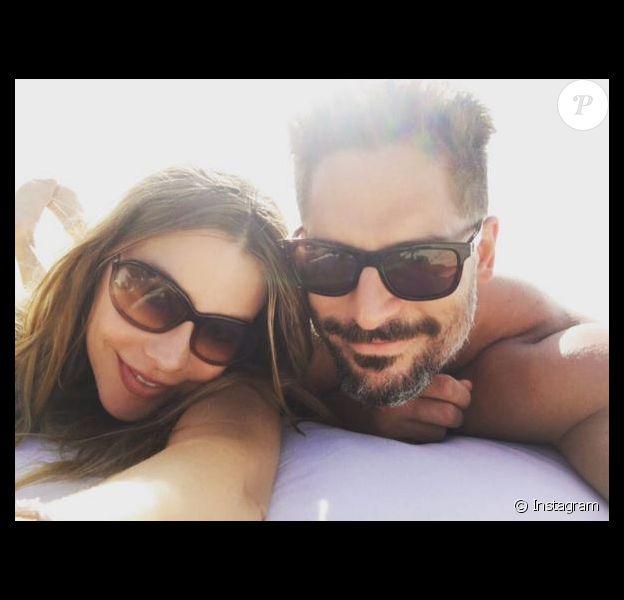 Sofia Vergara et Joe Manganiello en lune de miel, sur Instagram, le 30 novembre 2015