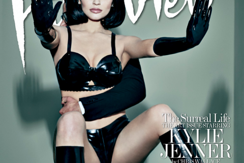 Kylie Jenner : Transformée en poupée, habillée de latex, des photos ultrasexy