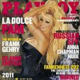 Pamela Anderson pour le magazine  Playboy , janvier 2011