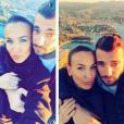 Julie Ricci s'affiche avec Loïc. Les amoureux de  Secret Story 9  sont visiblement toujours ensemble. Le 19 nopvembre 2015.